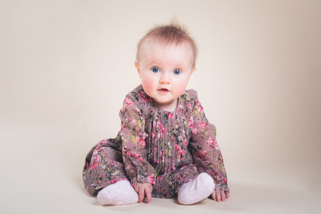 Buxton Baby Portraiture - Sitting Up