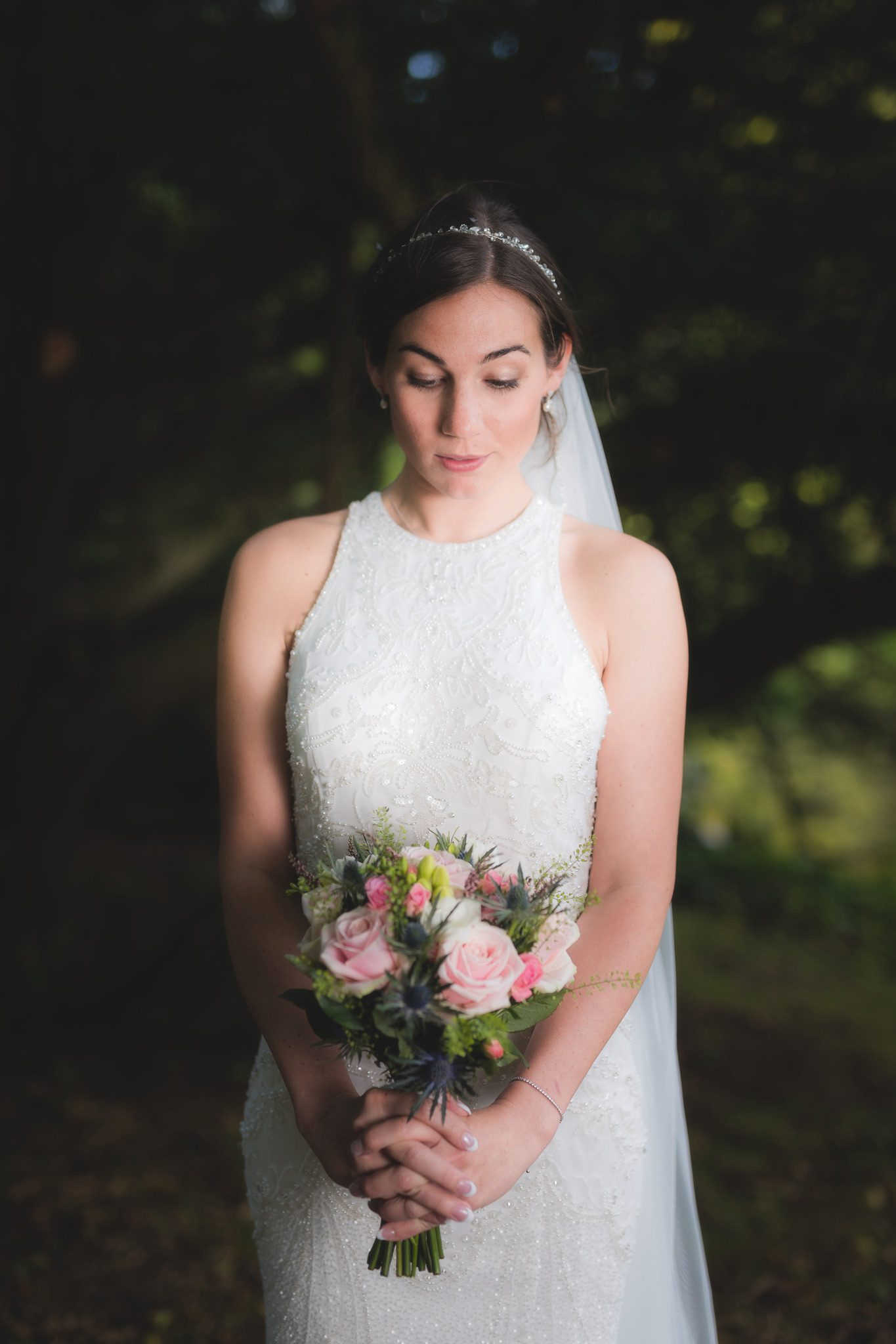 Buxton Wedding Photographer - Bridal Portrait