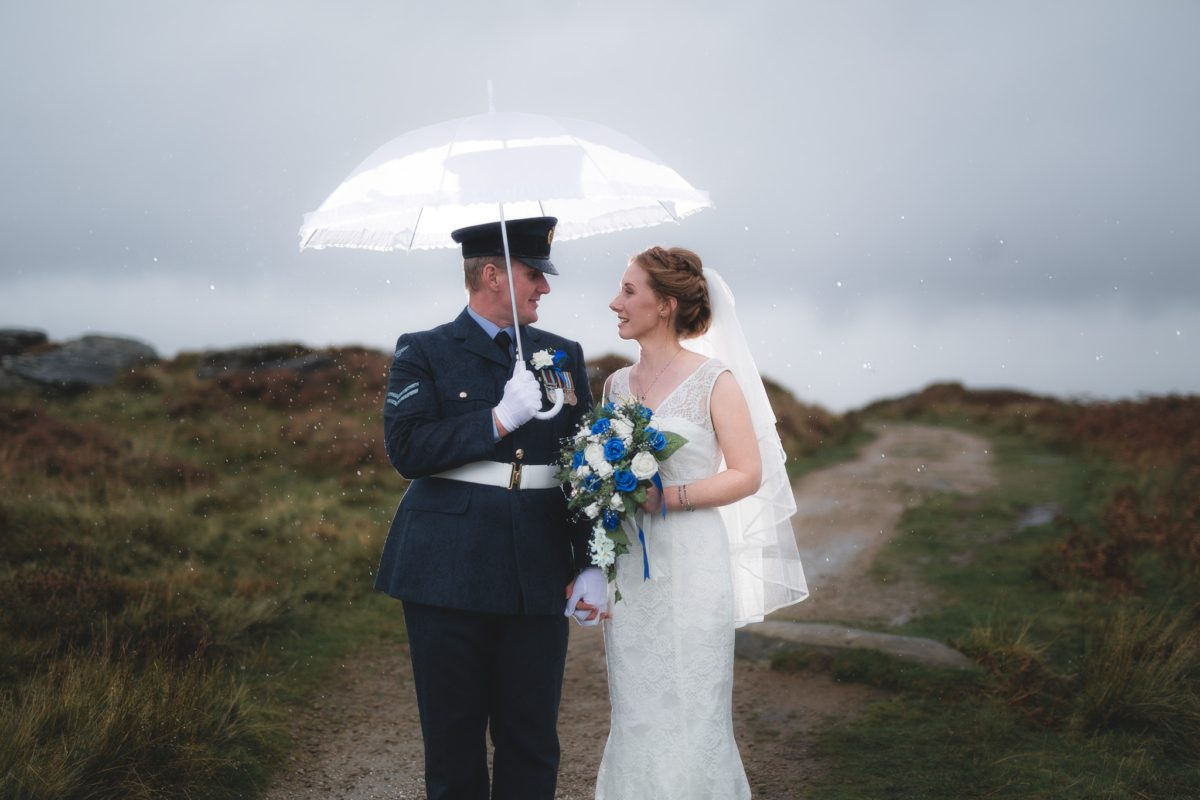Peak District Wedding Photographer - Curbar Edge