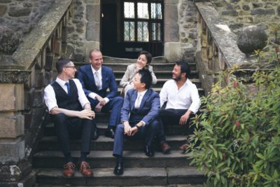 Summer Wedding at Haddon Hall - Group Shots