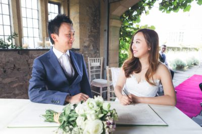 Summer Wedding at Haddon Hall - The Service
