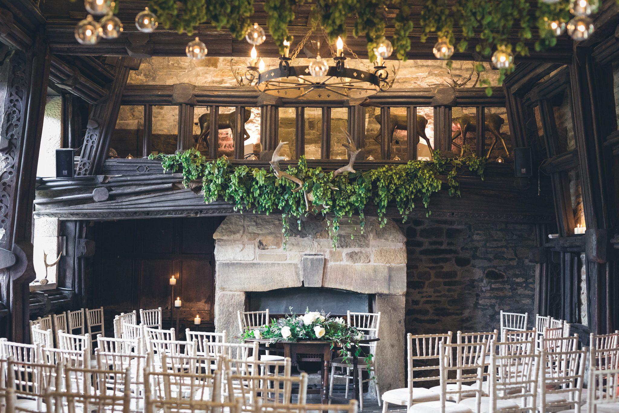 Summer Wedding at Upper House - Ceremony Room