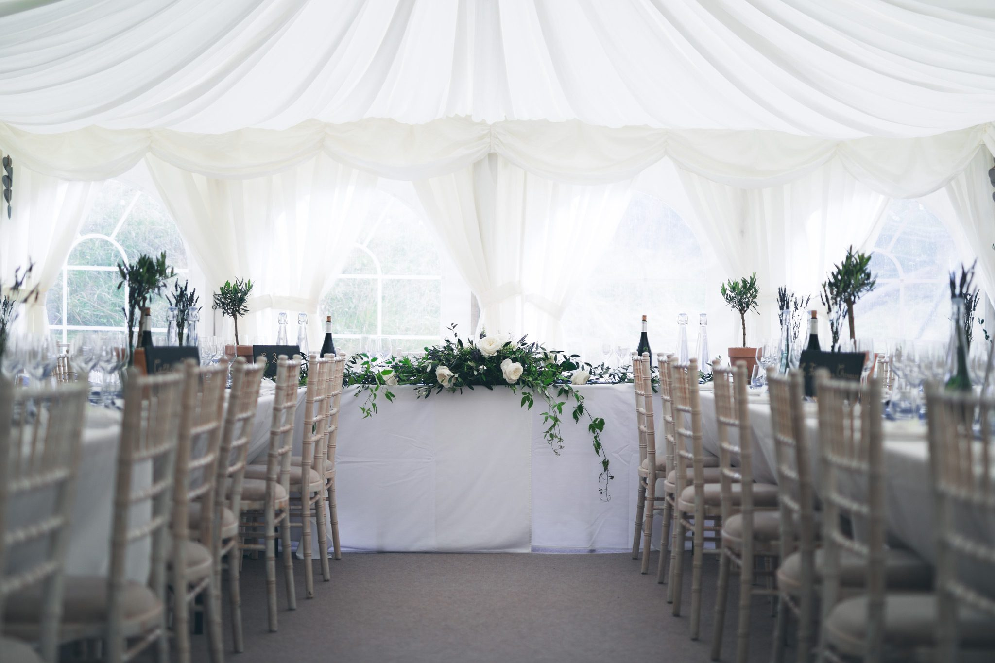 Reception Room at Upper House in Hayfield