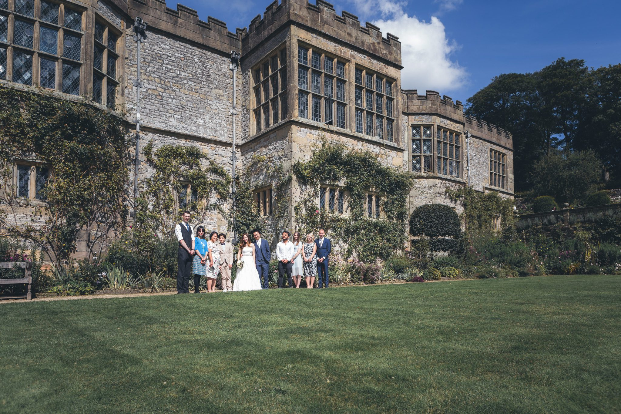 Haddon Hall Gardens Group Shot
