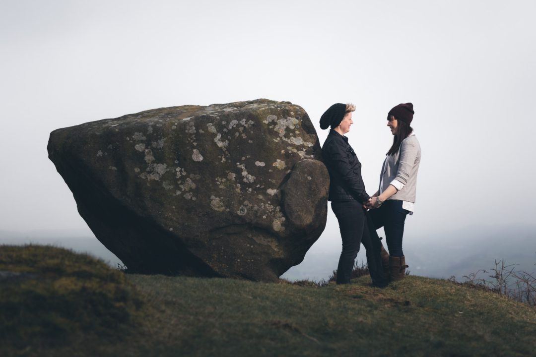 Baslow Edge Engagement Shoot