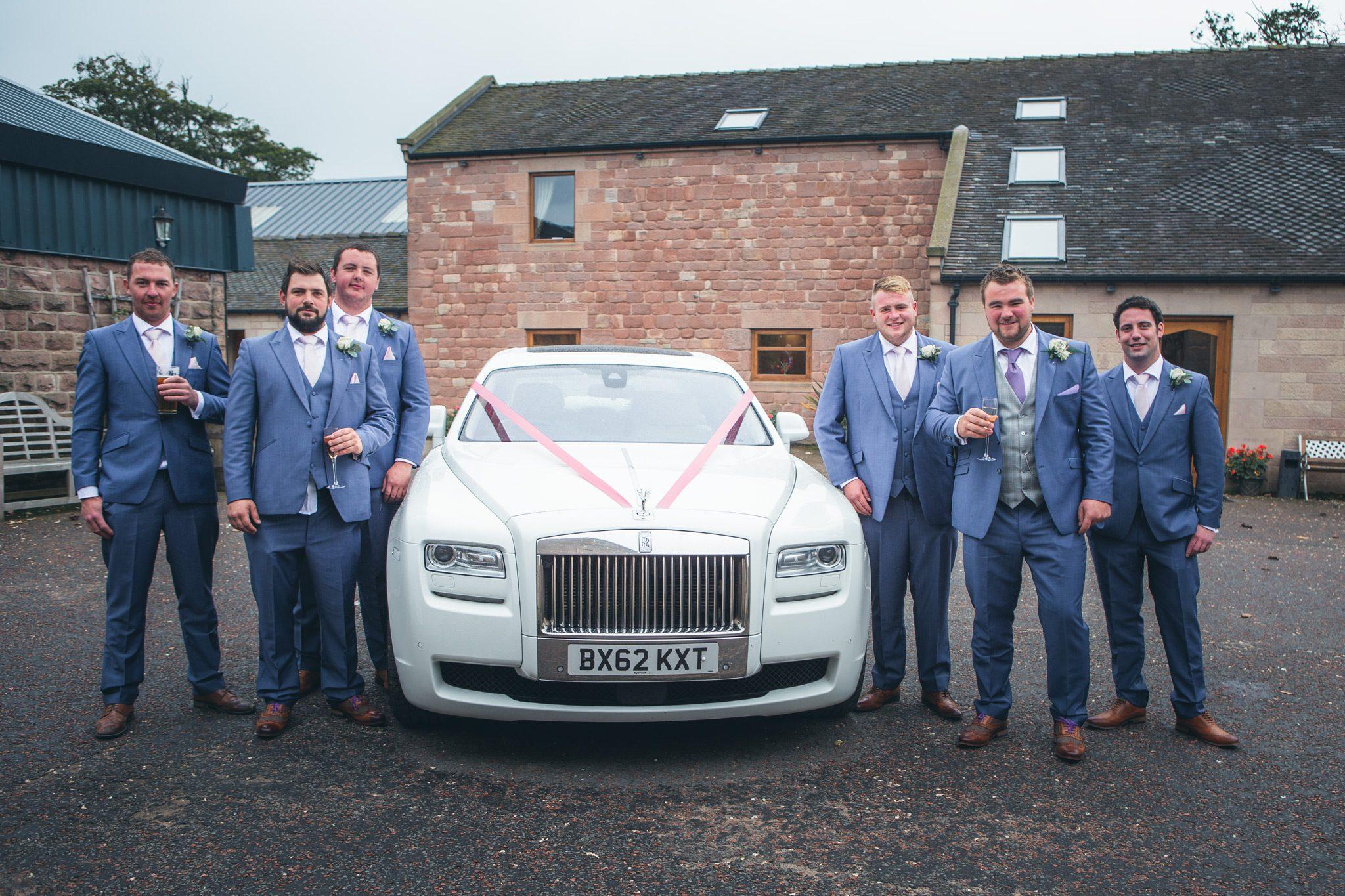 Rustic Wedding - Boys
