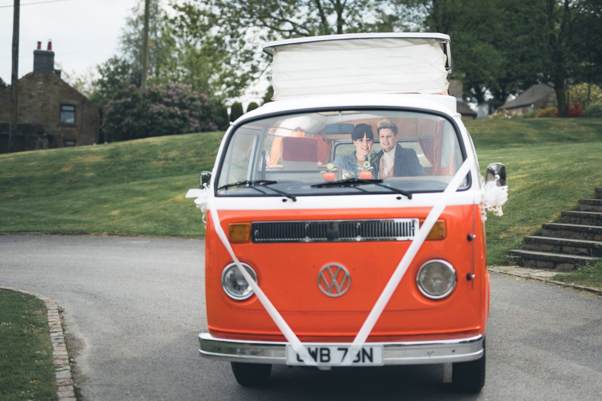 Campervan Wedding Photography