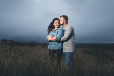Peak District Engagement Shoot Stanage Edge