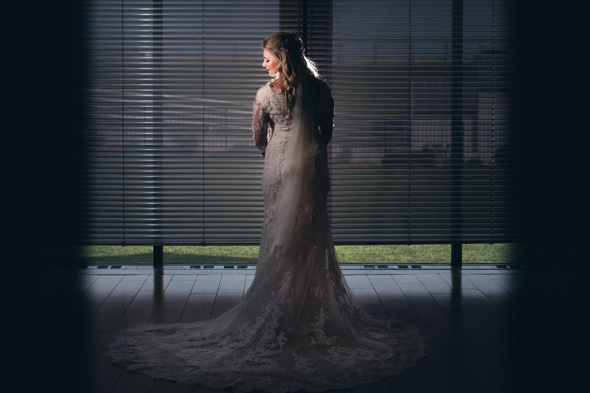 Gorgeous bridal portrait