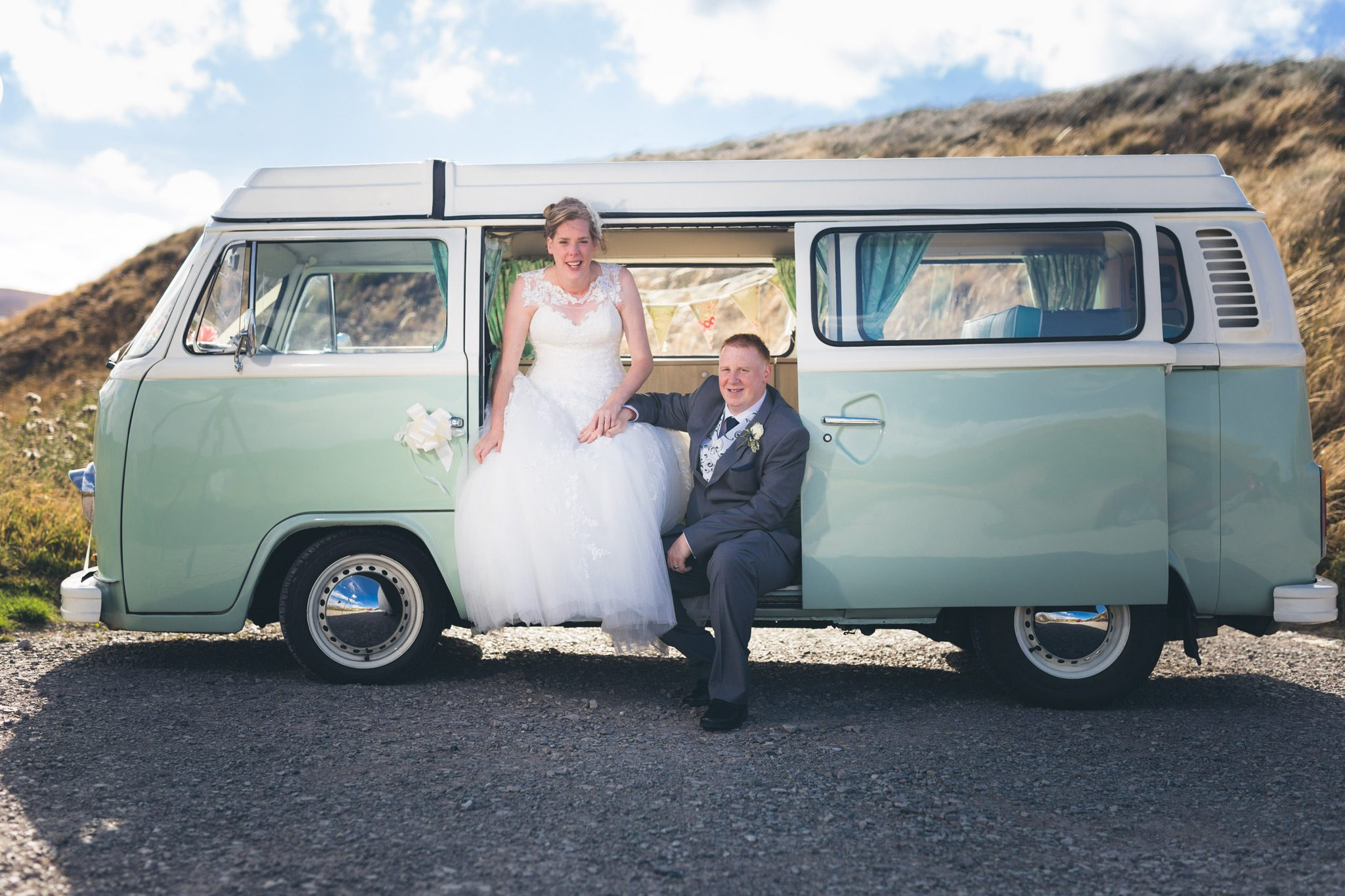 Goyt Valley Campervan Wedding Photos