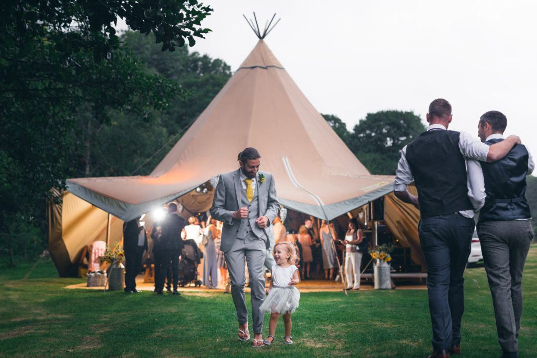 Peak District Tipi Wedding