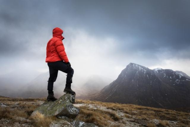 Buxton Portrait Photographer - Scotland Mountain