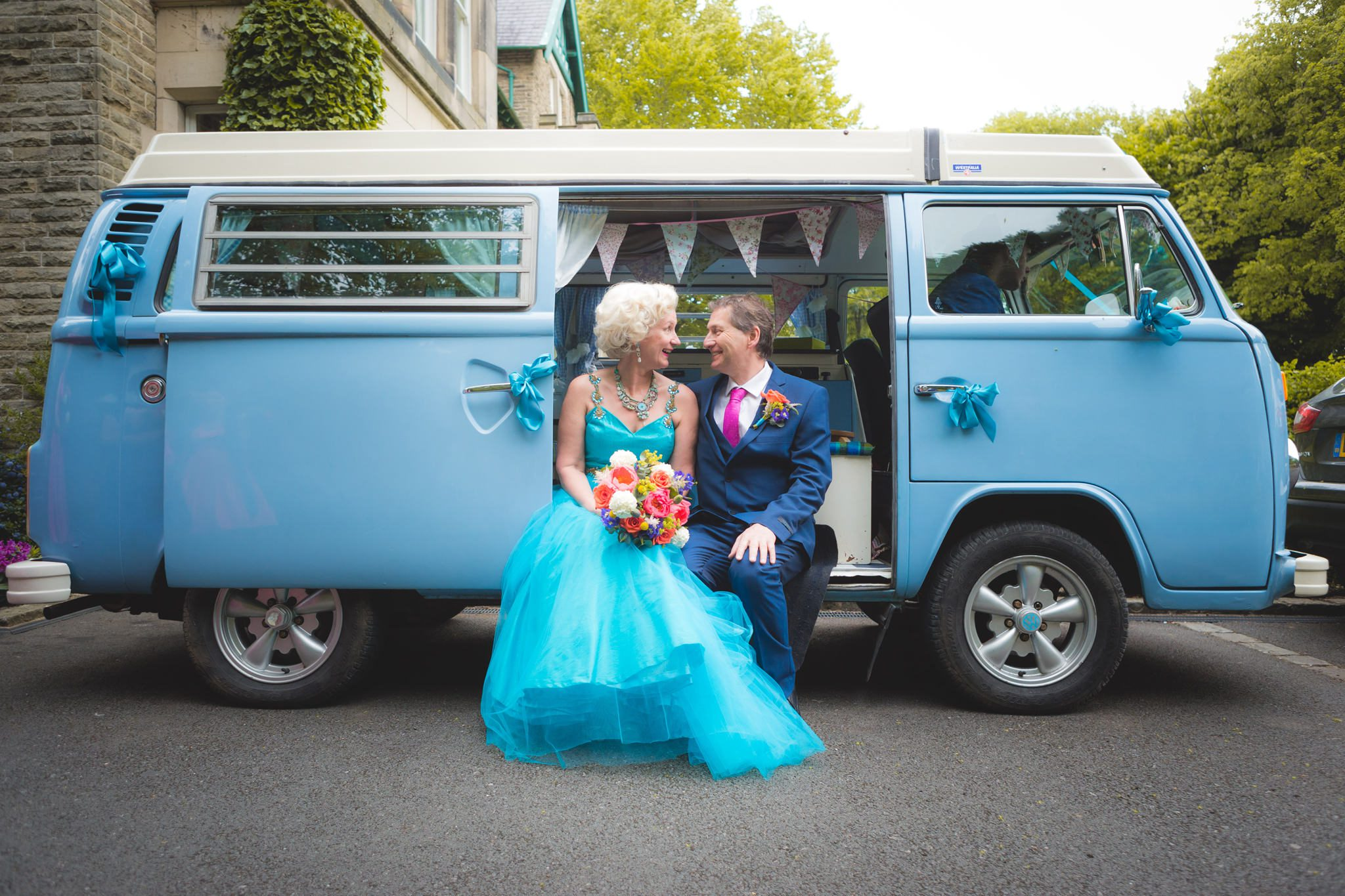 Derbyshire Wedding Photographer - Buxton Pavilion Gardens Campervan