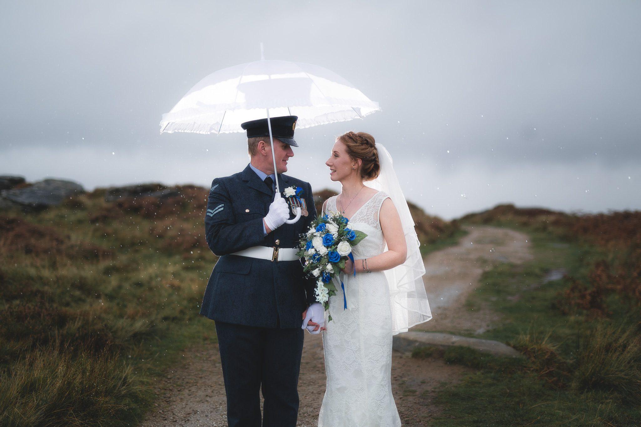Peak District Wedding Photographer - Curbar Edge