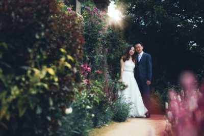 Summer Wedding at Haddon Hall - Xianxi and Lufei In the Beautiful Gardens