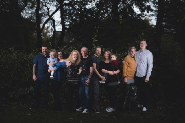 Family Photoshoot in Buxton
