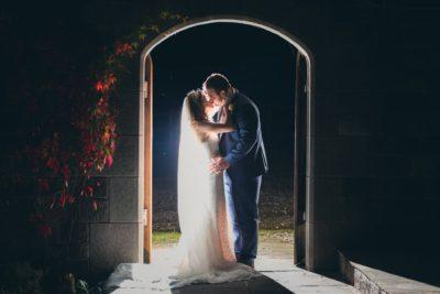 Heaton House Farm Arch Woth Couple