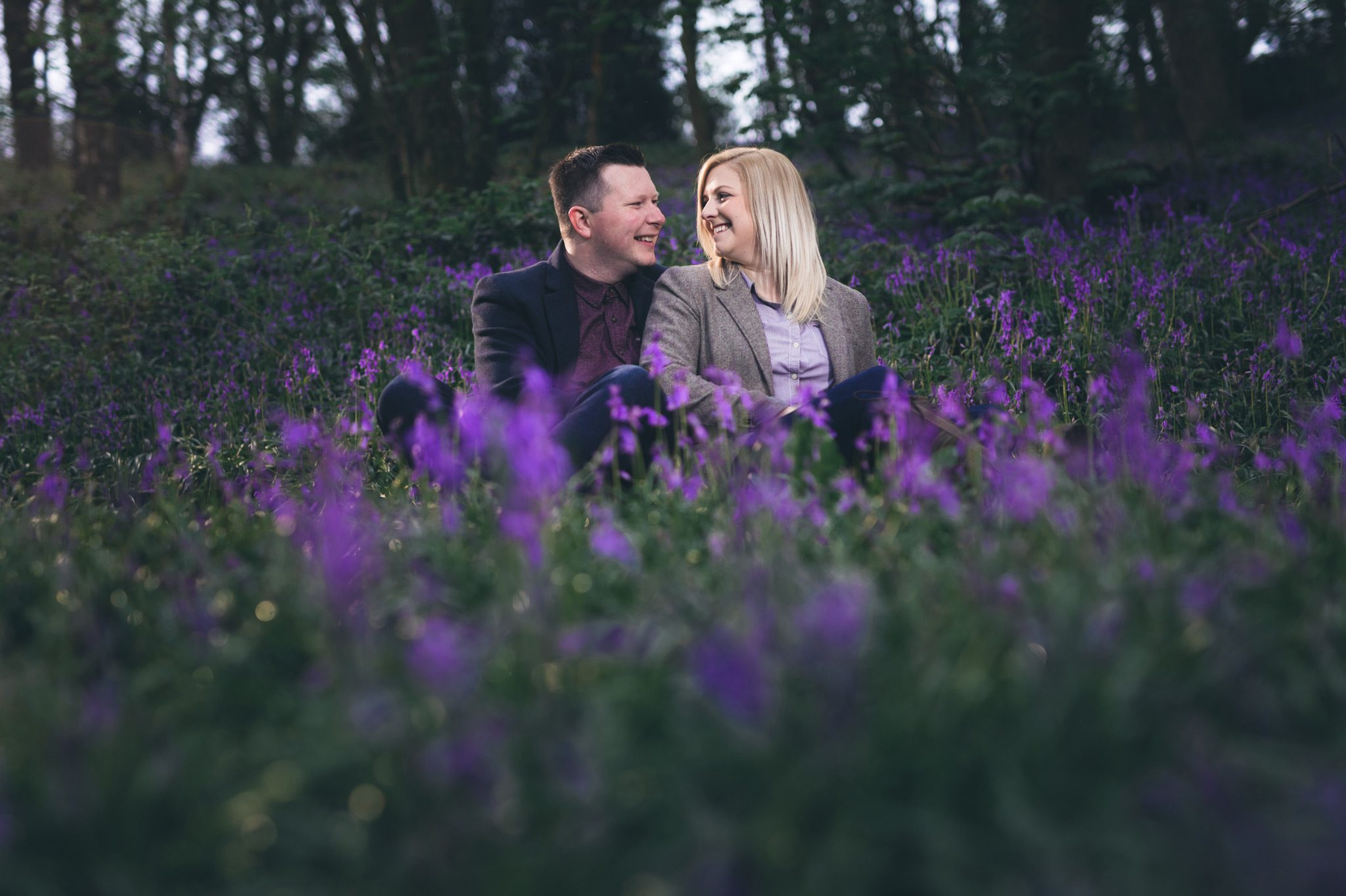 Bluebell Woods Engagement Shoot