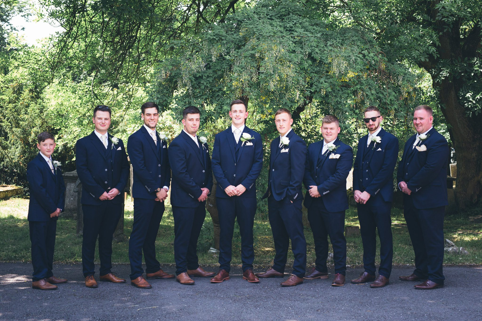 Jake and his Groomsmen