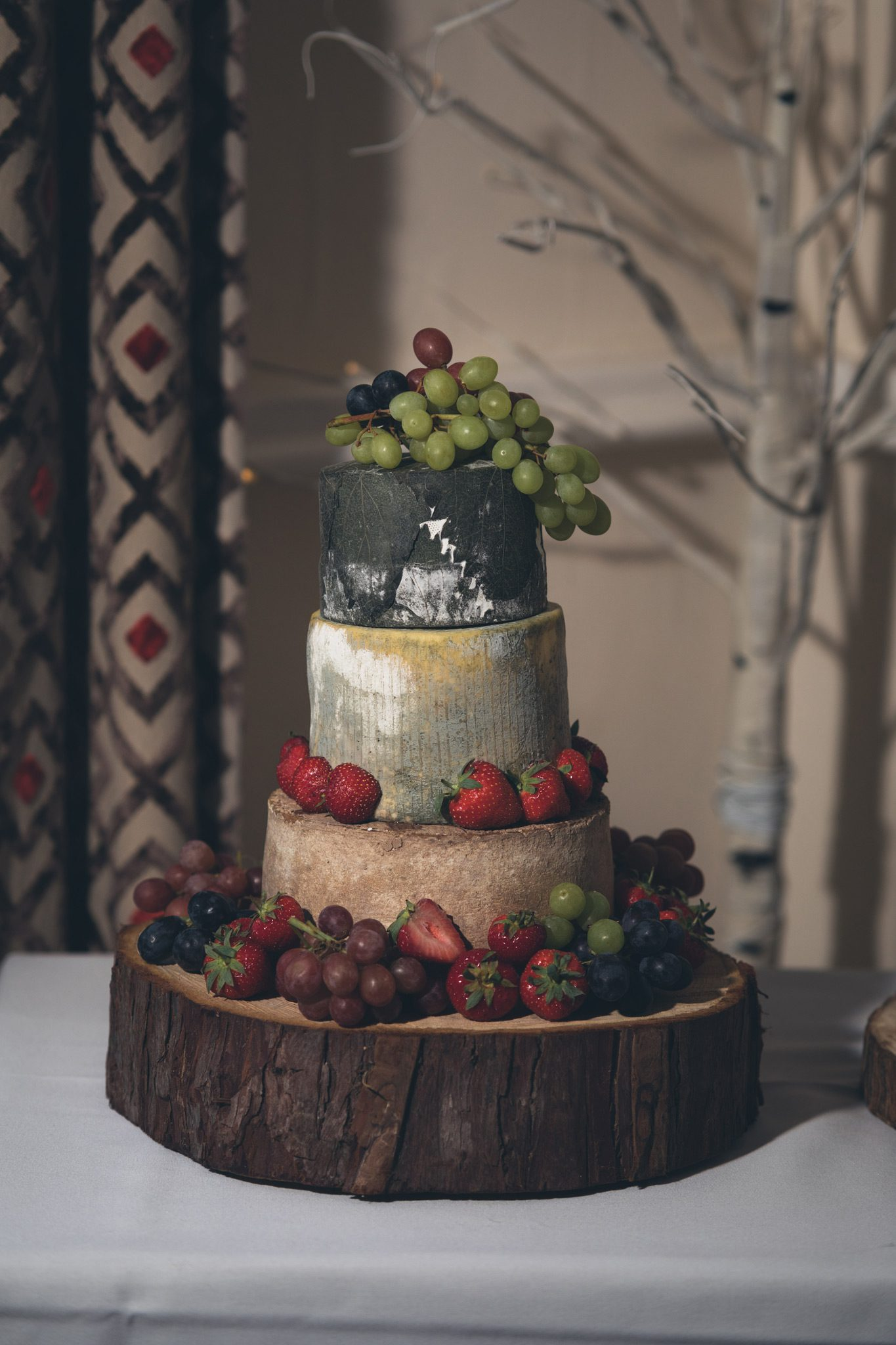 Cavendish Golf Club Wedding Cheese Cake
