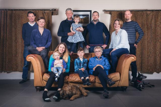 Peak District family photoshoot
